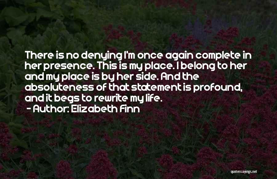 Elizabeth Finn Quotes 2075101
