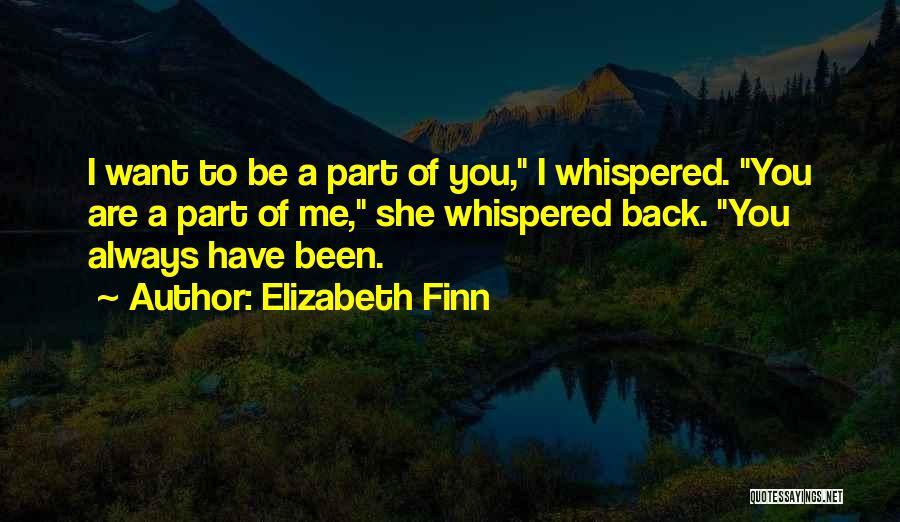 Elizabeth Finn Quotes 262634