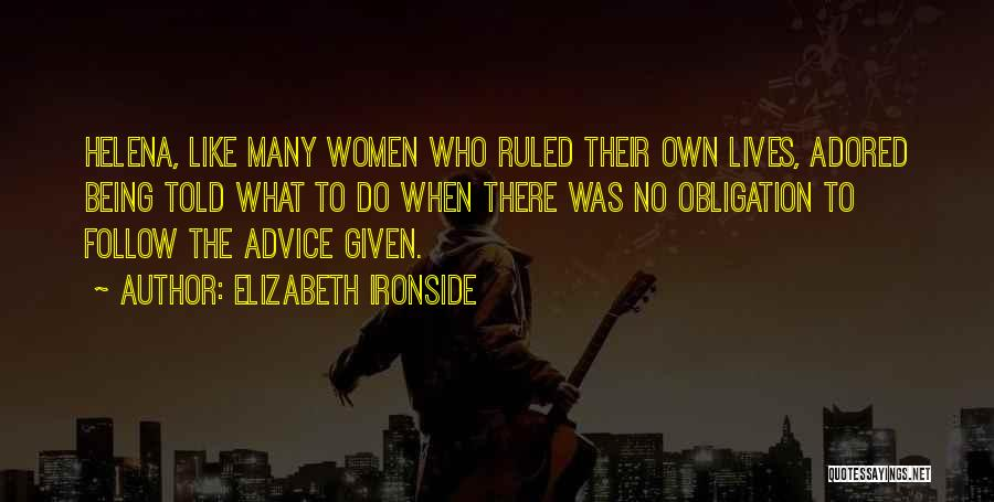 Elizabeth Ironside Quotes 1895297