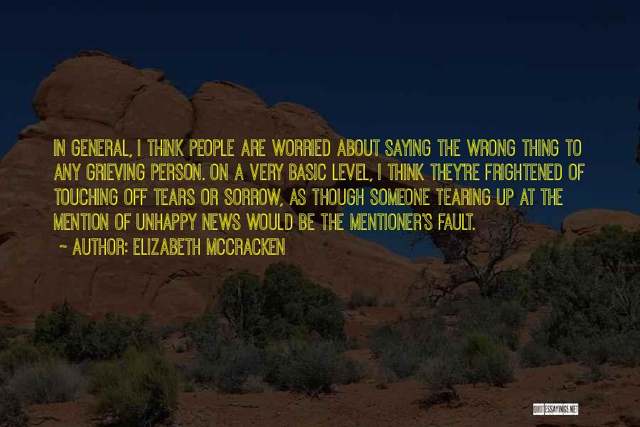 Elizabeth McCracken Quotes 1736924