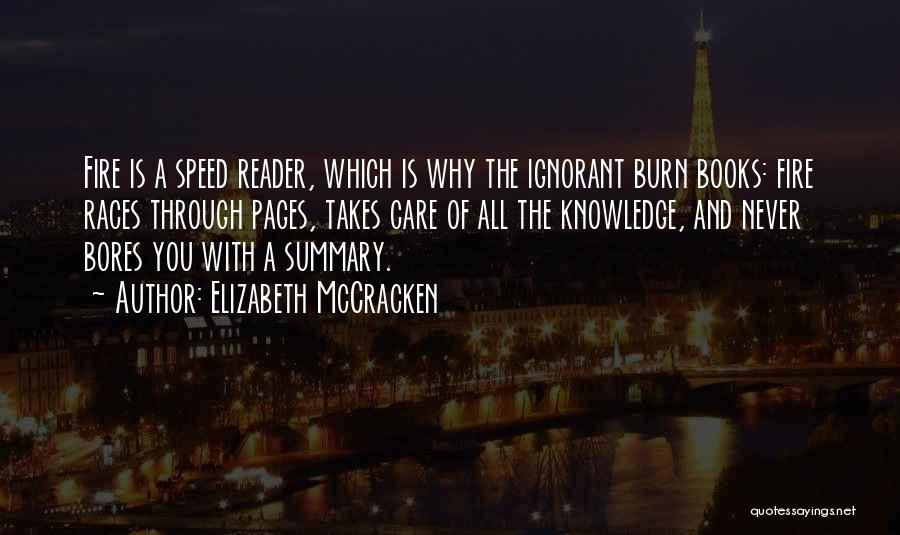 Elizabeth McCracken Quotes 420149