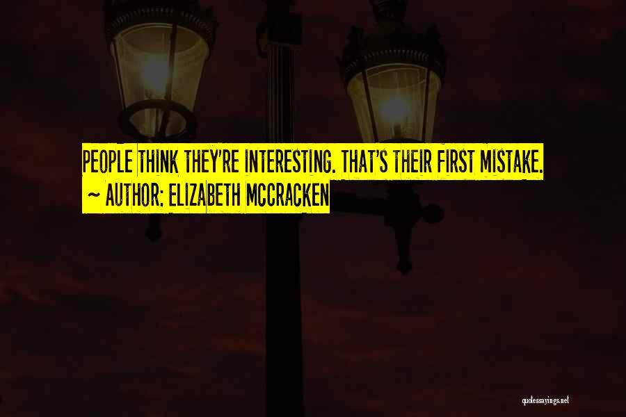 Elizabeth McCracken Quotes 654536