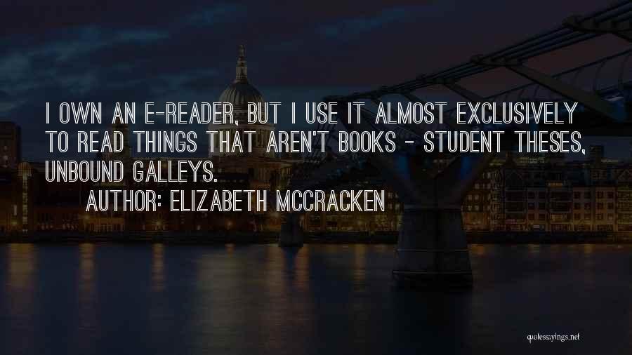 Elizabeth McCracken Quotes 897695