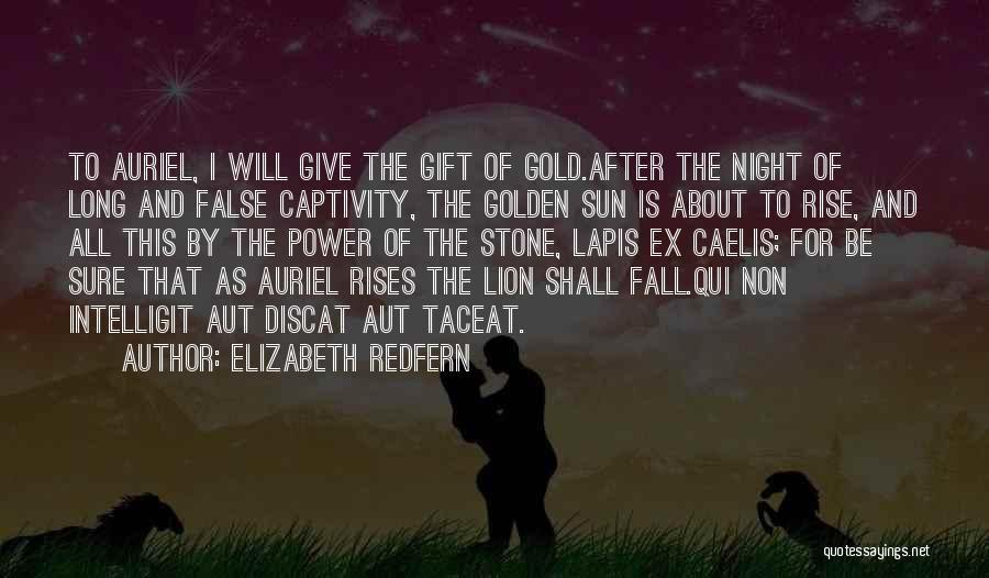 Elizabeth Redfern Quotes 705018