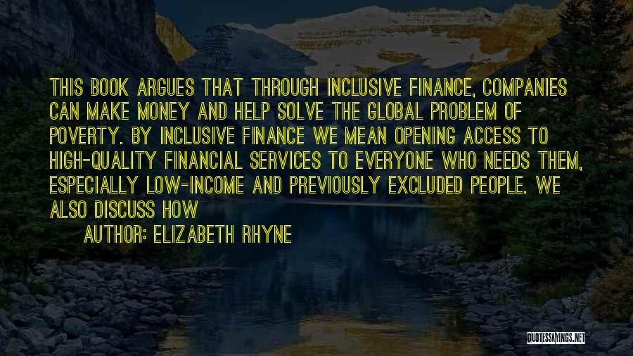 Elizabeth Rhyne Quotes 1405500