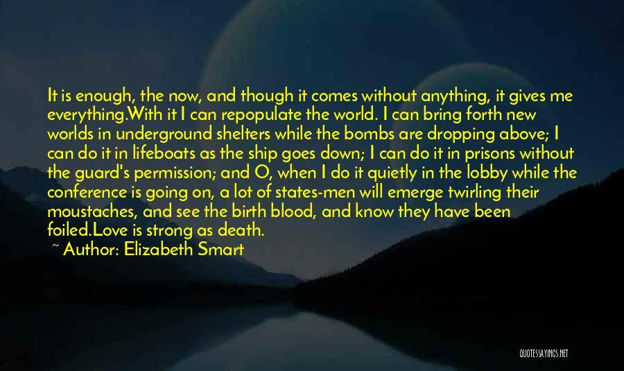 Elizabeth Smart Quotes 1643190