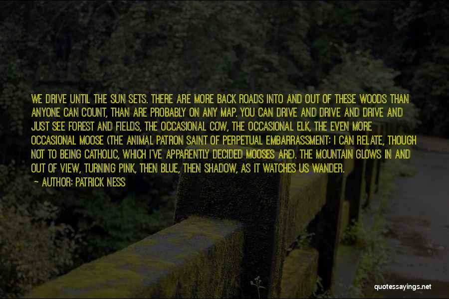 Elk Animal Quotes By Patrick Ness