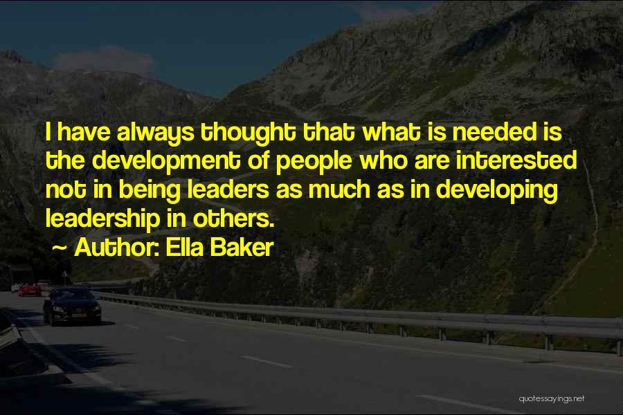 Ella Baker Quotes 1063823