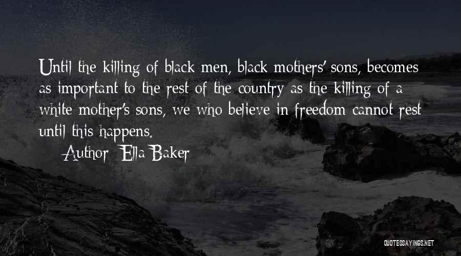 Ella Baker Quotes 326736
