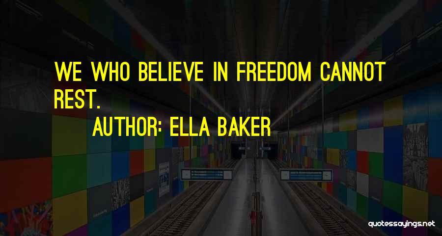 Ella Baker Quotes 529395
