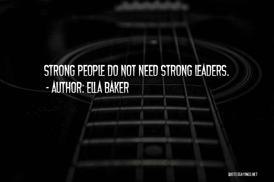 Ella Baker Quotes 846808