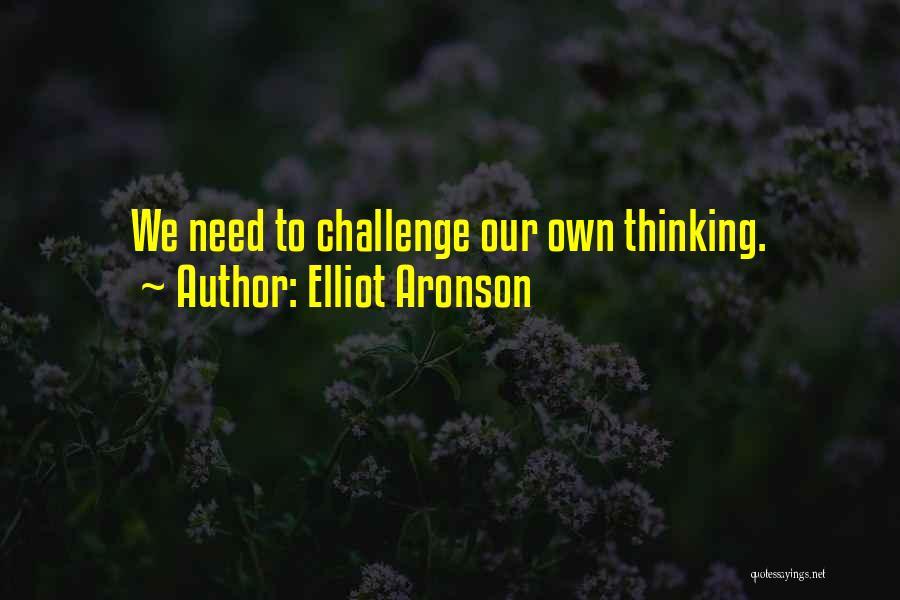 Elliot Aronson Quotes 1365932