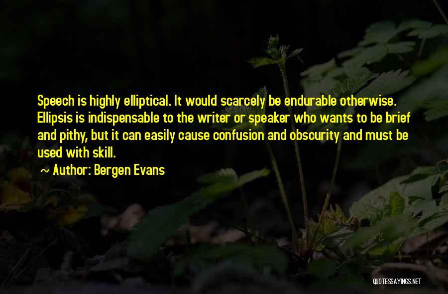 Ellipsis In Quotes By Bergen Evans