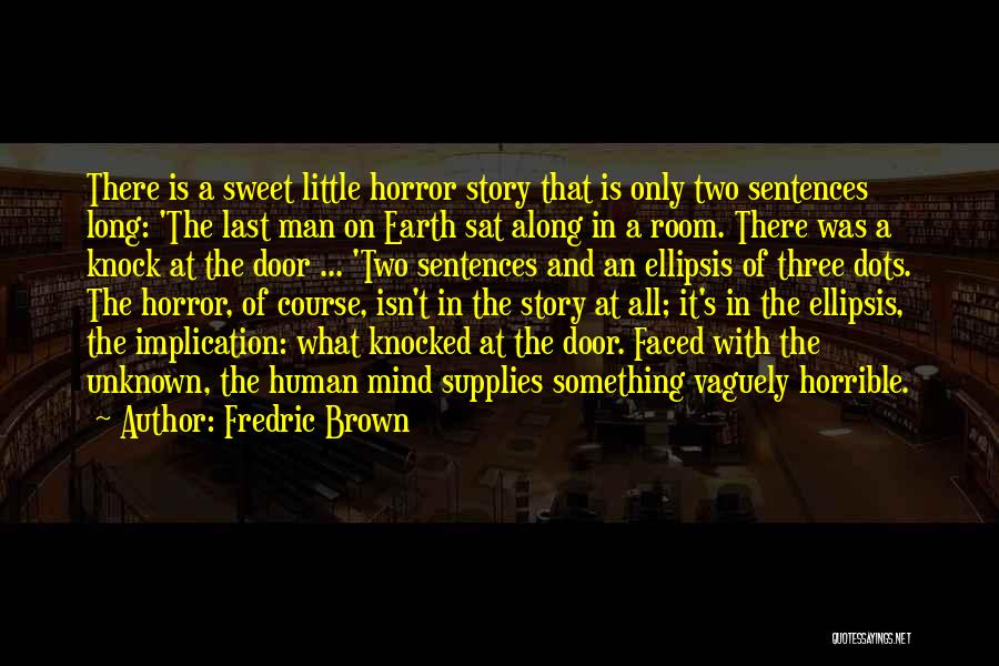 Ellipsis In Quotes By Fredric Brown