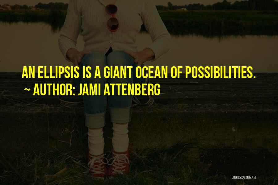 Ellipsis In Quotes By Jami Attenberg
