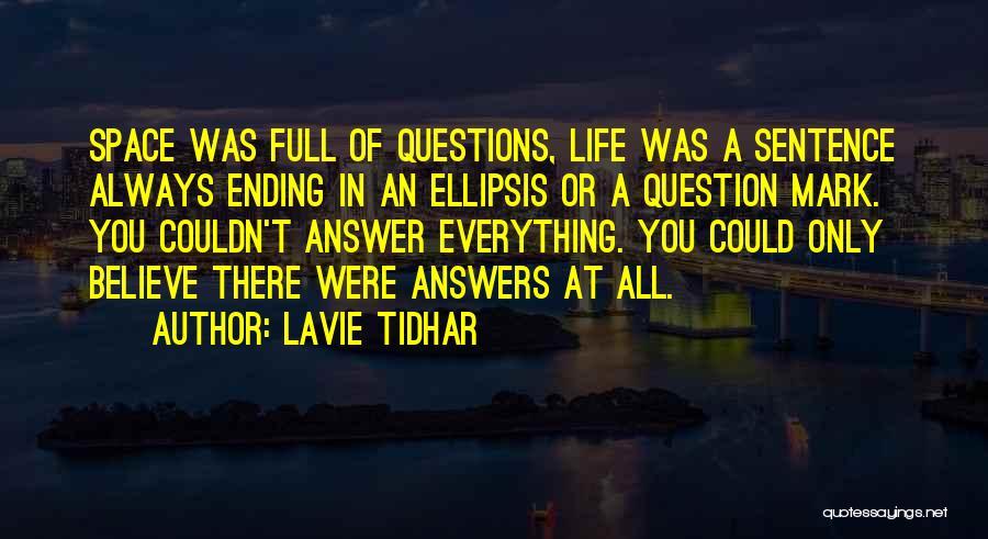 Ellipsis In Quotes By Lavie Tidhar