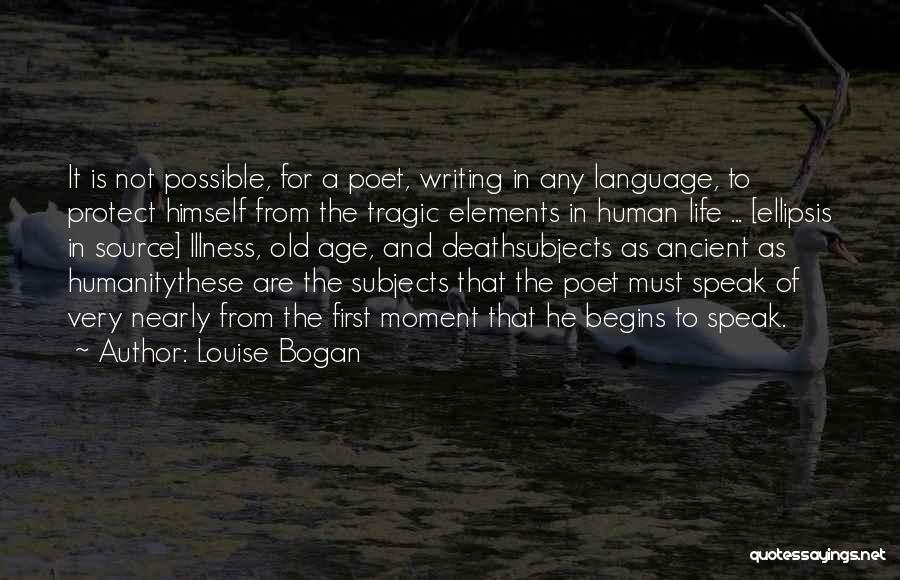 Ellipsis In Quotes By Louise Bogan
