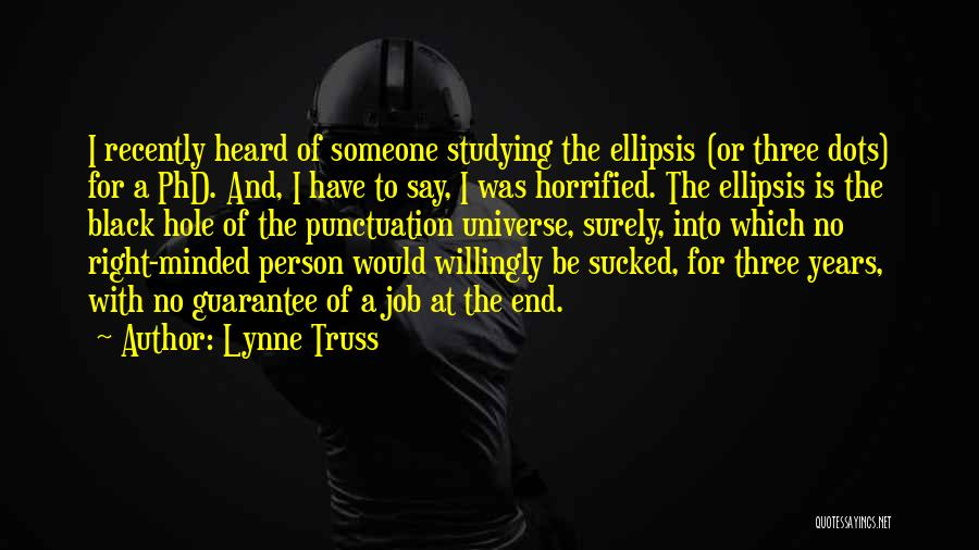 Ellipsis In Quotes By Lynne Truss