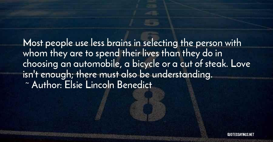 Elsie Lincoln Benedict Quotes 647623
