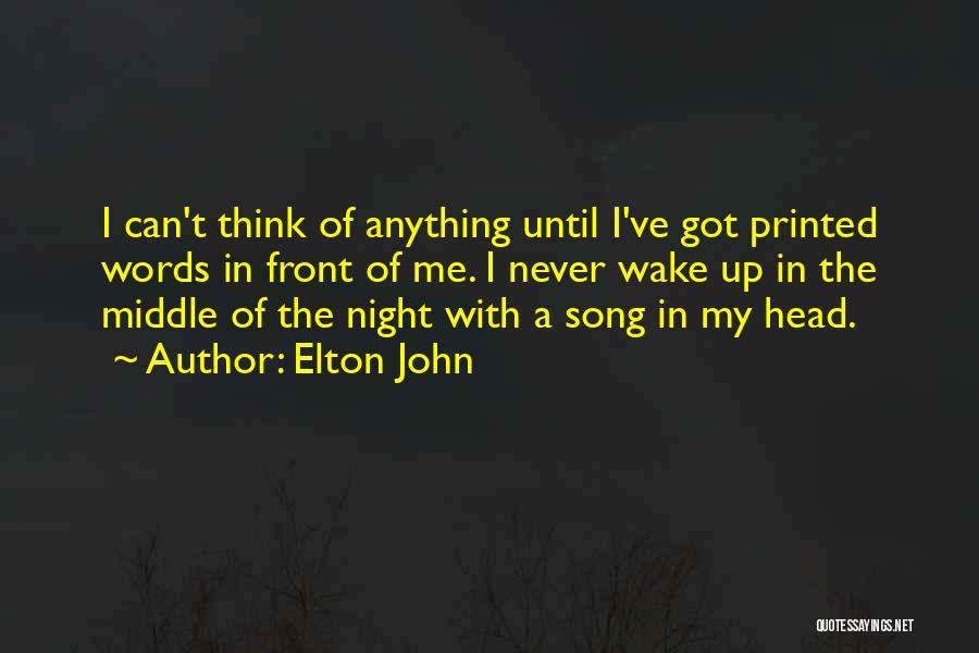 Elton John Quotes 1959652