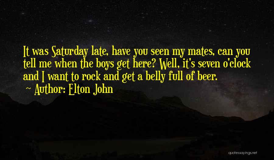 Elton John Quotes 276482