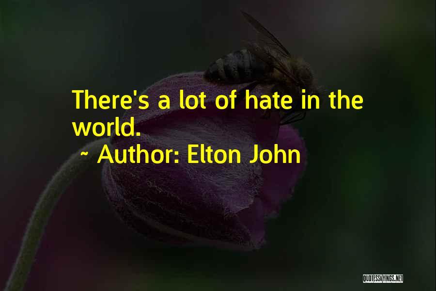 Elton John Quotes 320546