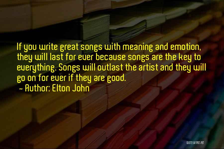 Elton John Quotes 636964