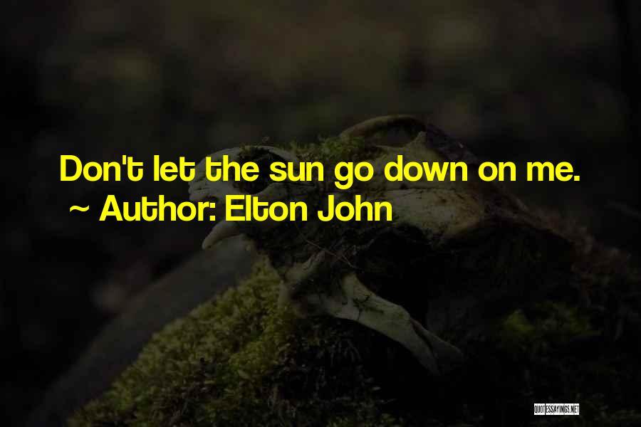 Elton John Quotes 888652
