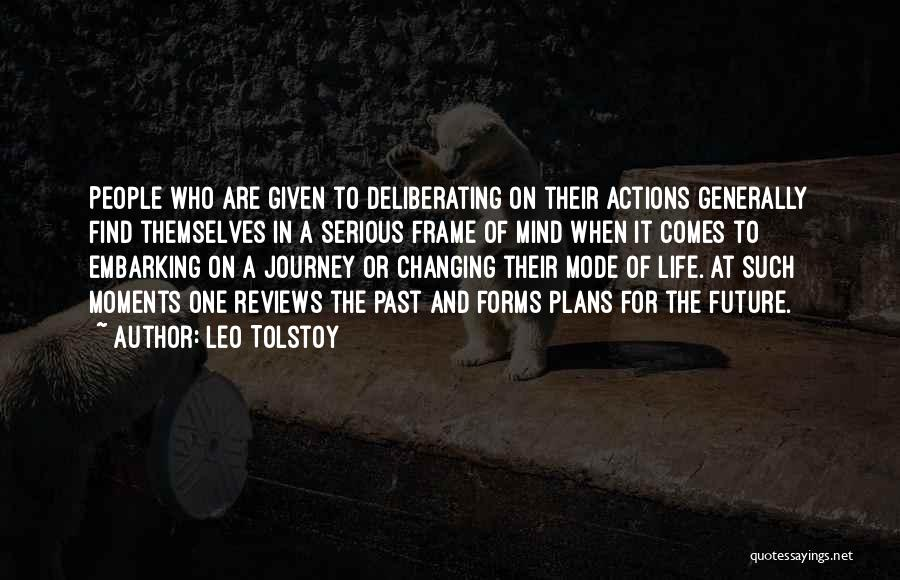 Embarking On A Journey Quotes By Leo Tolstoy