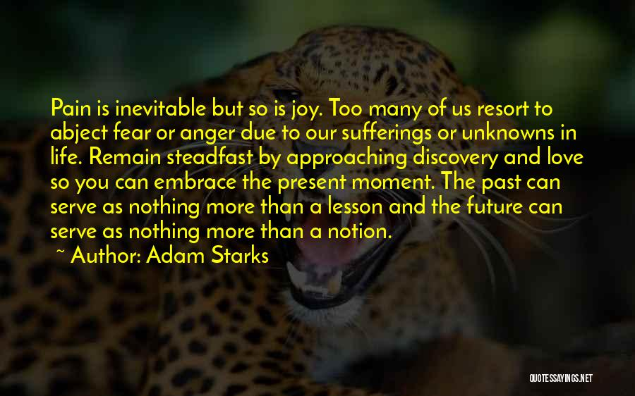 Embrace Fear Quotes By Adam Starks