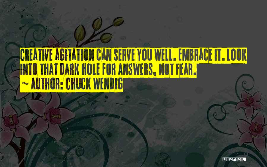 Embrace Fear Quotes By Chuck Wendig