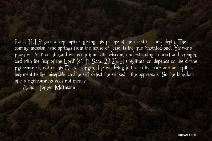 Embrace Fear Quotes By Jurgen Moltmann