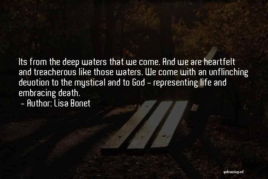 Embracing Death Quotes By Lisa Bonet
