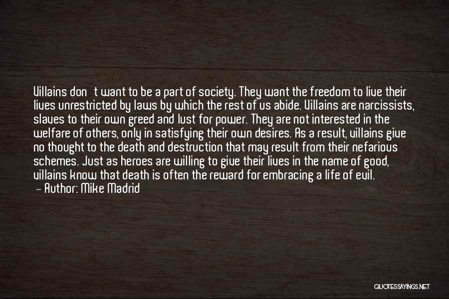 Embracing Death Quotes By Mike Madrid