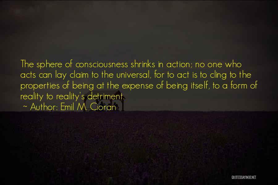 Emil M. Cioran Quotes 1554812