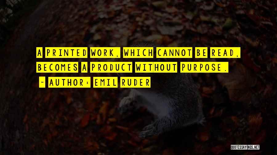 Emil Ruder Quotes 1462266