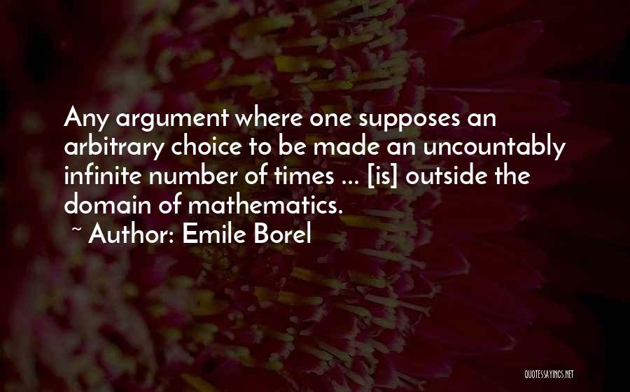Emile Borel Quotes 450439