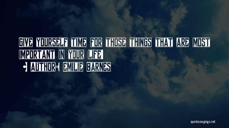 Emilie Barnes Quotes 899412