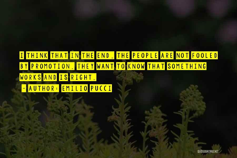 Emilio Pucci Quotes 1194151
