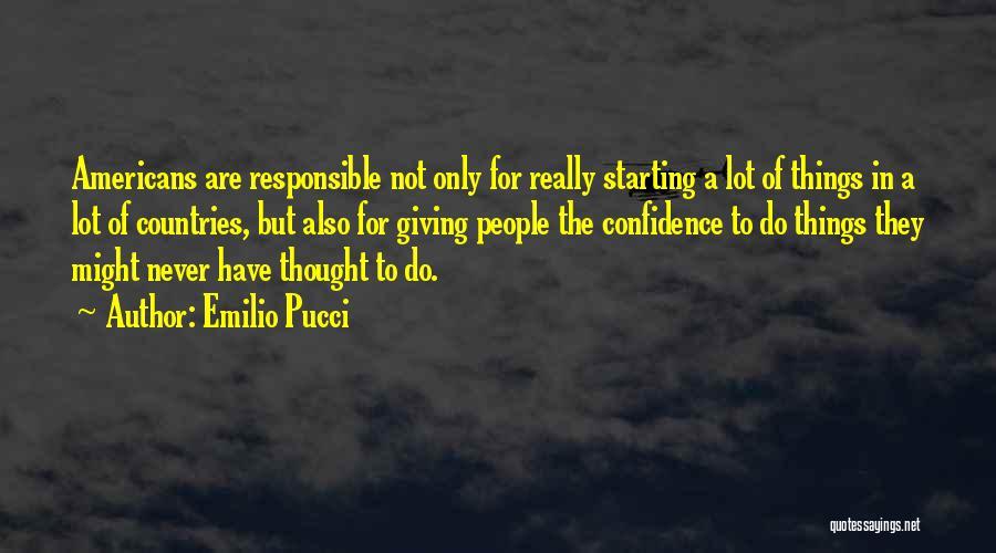 Emilio Pucci Quotes 1584439