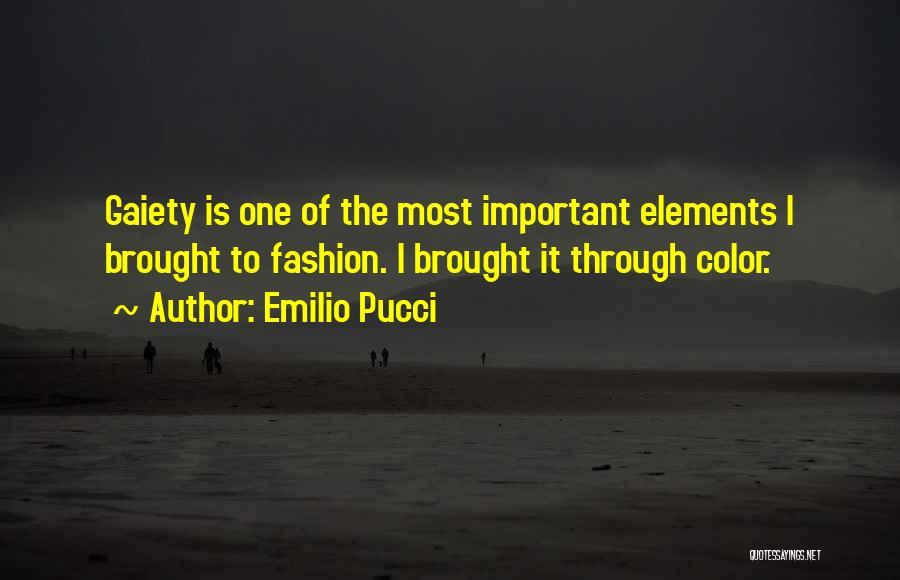 Emilio Pucci Quotes 1588249
