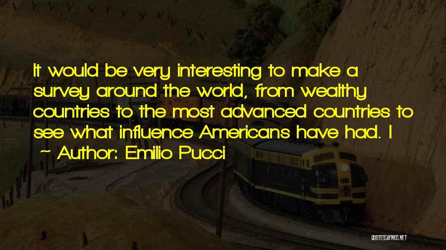 Emilio Pucci Quotes 300905