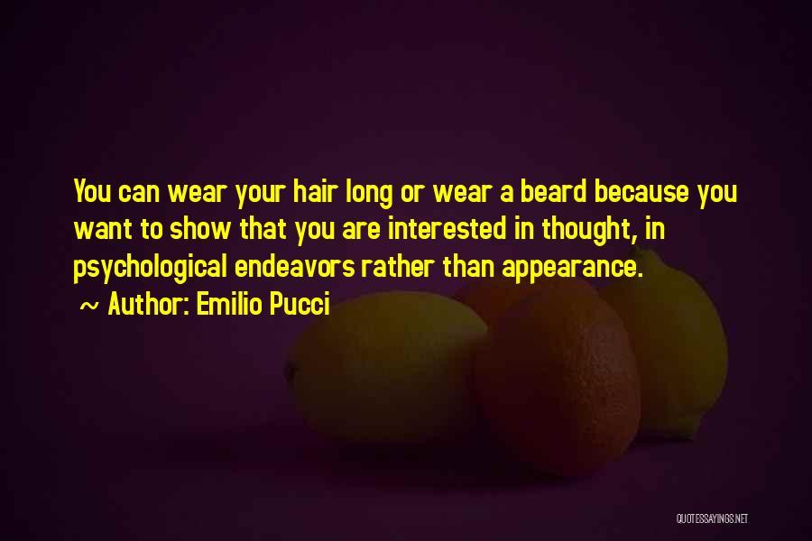 Emilio Pucci Quotes 491829