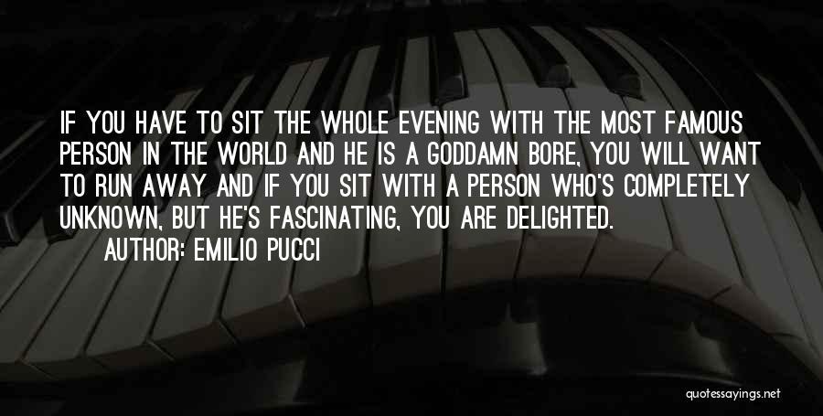 Emilio Pucci Quotes 520852