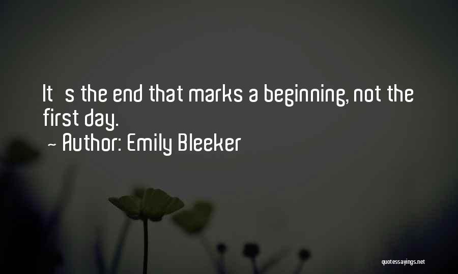 Emily Bleeker Quotes 118935