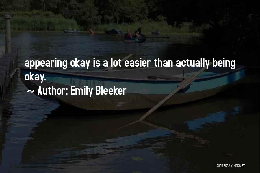 Emily Bleeker Quotes 1313731