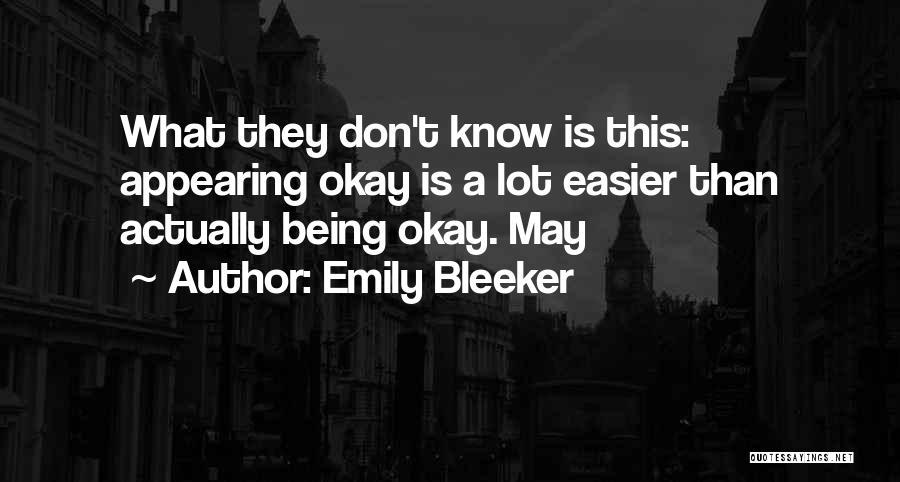 Emily Bleeker Quotes 509301