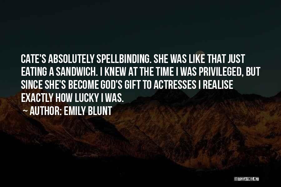 Emily Blunt Quotes 1795400