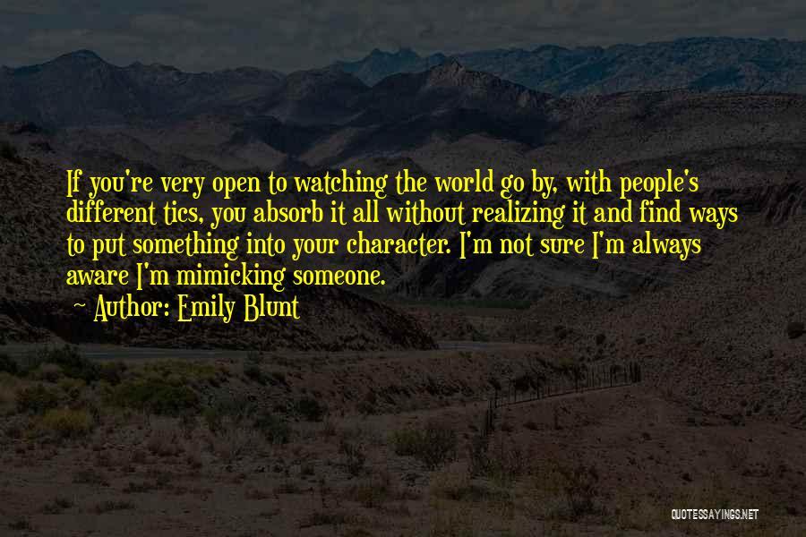 Emily Blunt Quotes 1815393