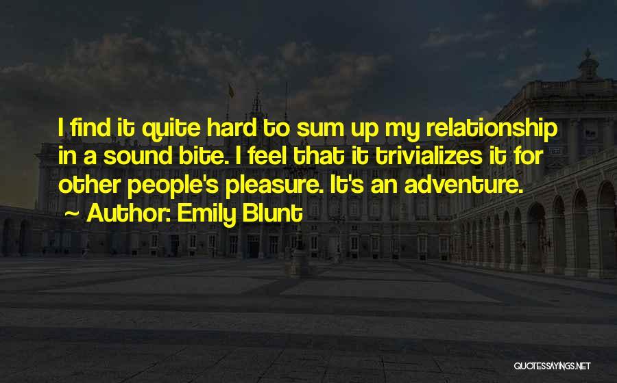 Emily Blunt Quotes 696895